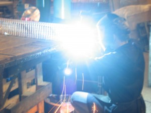 welding wire mesh light guards