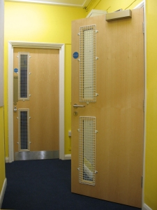 At the end of a complex project the Council, the school and AIANO were all pleased with the wire mesh window guards.