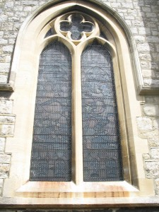 The finished traditional window guards are St Paul's are hard to spot