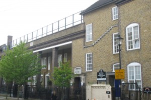 Hanover Primary School in Islington, London. The grade 2 listed building was completed in 1932