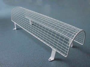 Aiano Classic tubular heater guard with brackets