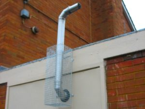 AIANO has manufactured and installed flue guards for Kingston Community School.