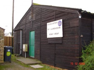 Laurencekirk Scout hut in 2008