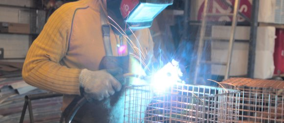AIANO manufactures all its wire guards in their East London workshop